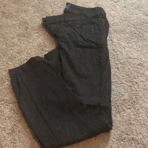 Polka dot pixie pants